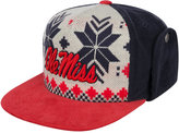 Top of the World Mississippi Rebels Christmas Sweater Strapback Cap