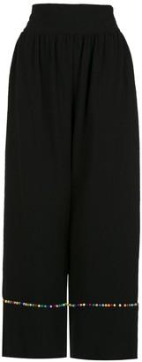 Olympiah Inca pompom pantacourt trousers
