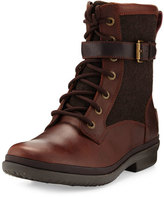 UGG Kesey Waterproof Combat Boot, Chestnut