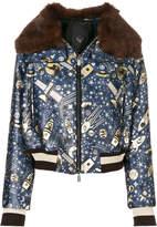 Frankie Morello Elladan bomber jacket