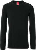 Nike technical knit crew neck top - men - Cotton/Nylon - S