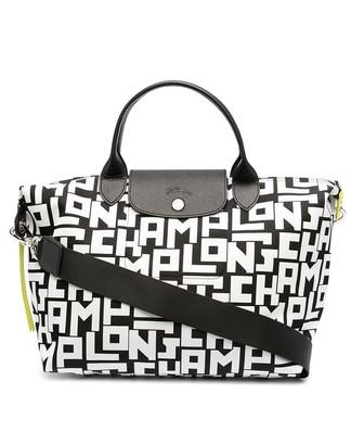 Longchamp medium Le Pliage Collection top handle bag