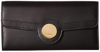 Lodis Rodeo RFID Luna Clutch Wallet (Black) Wallet Handbags