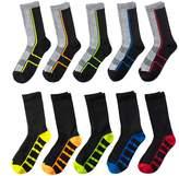 Tek Gear Boys 10-Pack Liner Crew Socks