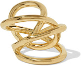 Jennifer Fisher Gold-plated Ring - 7