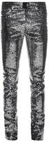 Saint Laurent Skinny Sequinned Jeans
