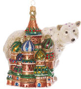 Jay Strongwater Kremlin & Polar Bear Tree Decoration - Jewel