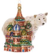 Jay Strongwater Kremlin & Polar Bear Tree Decoration