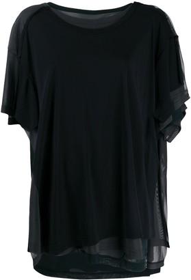 Yohji Yamamoto layered multi-front T-shirt