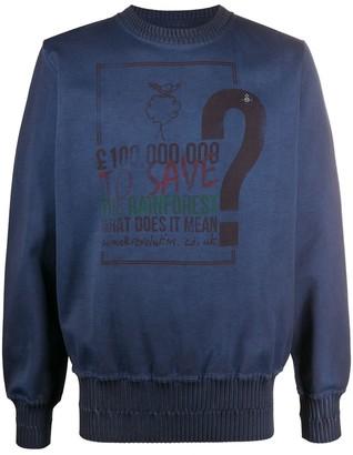 Vivienne Westwood Save the Rainforest sweatshirt