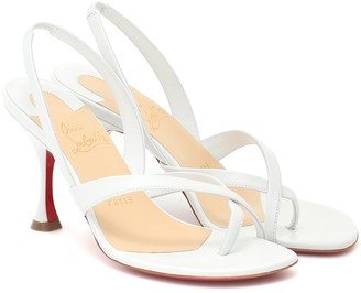 Christian Louboutin Taralita leather slingback sandals