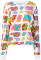 House of Holland abstract print T-shirt