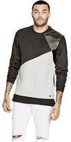 GUESS Men's Rourke Long-Length Sweatshirt