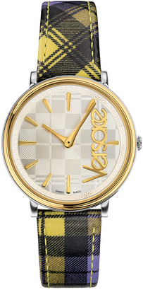 Versace Women's V Circle The Clans Edition Watch