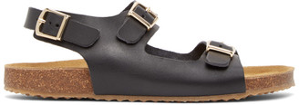 Mansur Gavriel Black Cloud Sandals