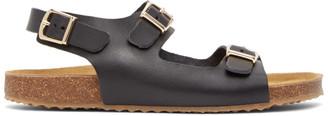 Mansur Gavriel Black Cloud Sandals