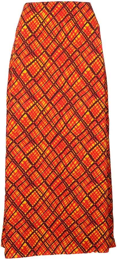 Marni abstract check shirt