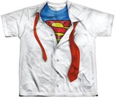 Superman Cartoon TV Series Movie Costume Break Out Big Boys Front Print T-Shirt
