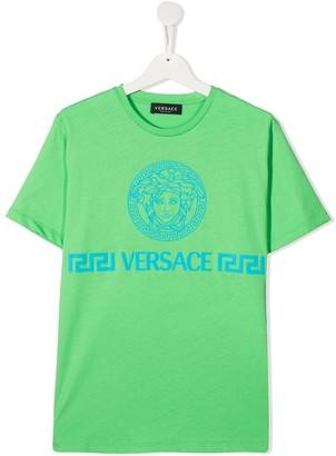 Versace TEEN Medusa head cotton t-shirt