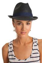 Trina Turk Hand Rolled Raffia Hat