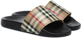 Burberry Vintage Check slides