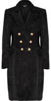Balmain Suede Coat