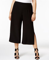 NY Collection Plus Size Split-Leg Culotte Pants