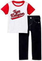 True Religion Baseball Tee Set (Toddler & Little Boys)