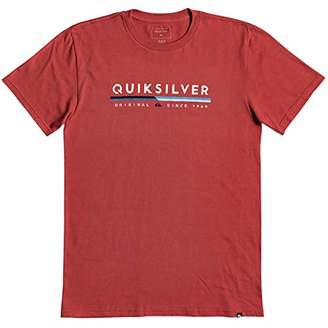 Quiksilver Men's Retro Lines Tee