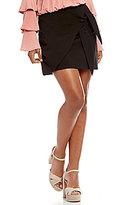 GB Tie Front Wrap Skirt
