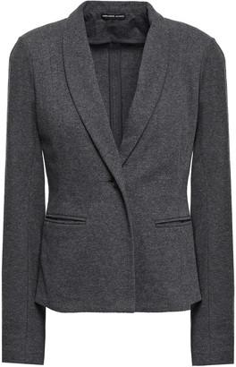 James Perse Melange Cotton-jersey Blazer