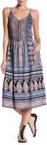 Angie Print Maxi Dress