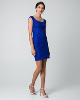 Le Château Lace Off-the-Shoulder Cocktail Dress