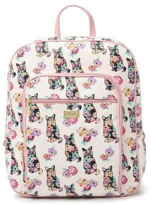 Betsey Johnson LUV BETSEY BY Brookk Cat Print Backpack