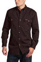 Carhartt Men's Oakman Sandstone Twill Original-Fit Work Shirt S09