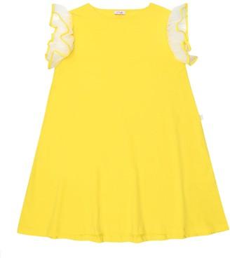 Il Gufo Stretch-cotton dress