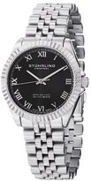 "Stuhrling Original Women's 599L.02 ""Symphony Lady Coronet"" Stainless Steel Watch with Five-Piece Link Bracelet"
