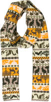 Stella McCartney Printed Wool Scarf