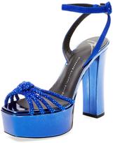 Giuseppe Zanotti Patent Leather Platform Sandal