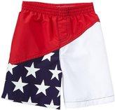 City Threads U.S.A Swim Trunks (Toddler/Kid) - Red/White/Blue-6