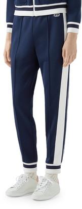 Gucci Stripe Pique Track Pants