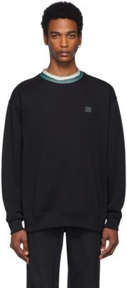 Acne Studios Black Folsom Face Sweatshirt
