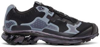 11 By Boris Bidjan Saberi Black and Grey Salomon Lab Edition XT-4 Sneakers