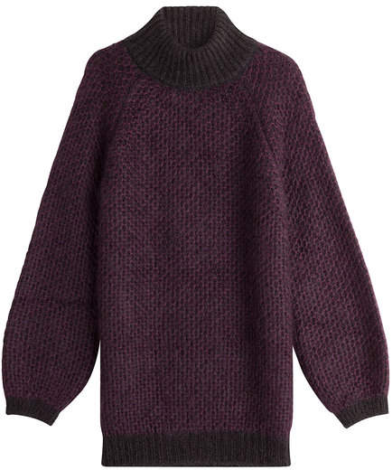 Marc Jacobs Mohair Pullover with Silk