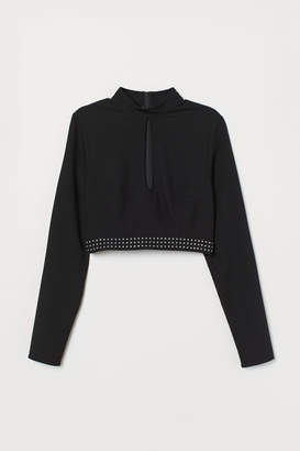 H&M Studded top