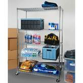 "Seville Classics Inc. 72"" H x 48"" W 5-Tier UltraZinc Steel Wire Shelving Unit Inc."