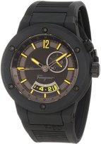 Salvatore Ferragamo Men's F55LGQ6875 S113 F-80 Carbon Fiber Soft Rubber Watch