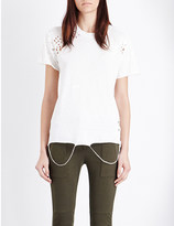 NSF Moore distressed cotton t-shirt