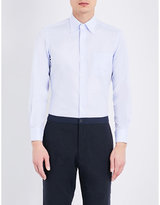 United Arrows Micro-print cotton shirt