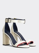 Tommy Hilfiger Leather Strappy Heeled Sandals